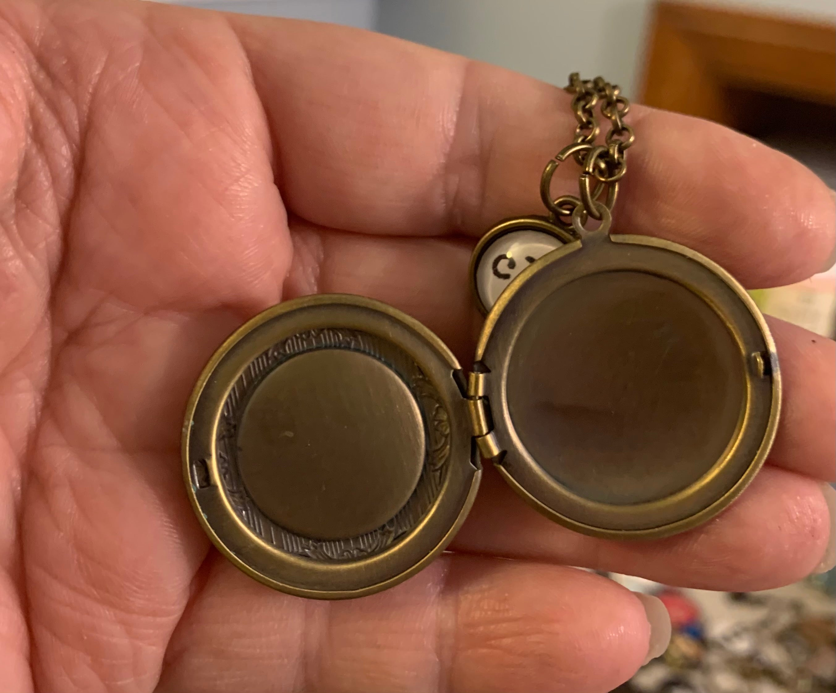 Guardian Locket With CLE Charm