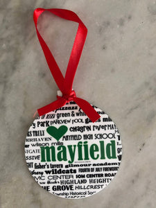 Mayfield Heights Ornament