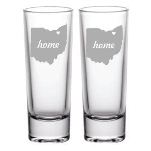 Home Ohio Shot Glass
