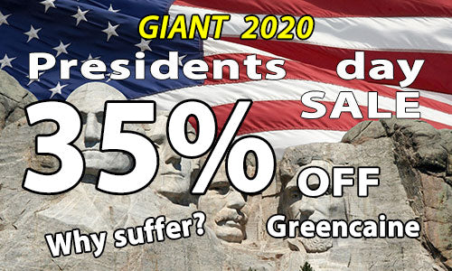 2020 Presidents sale on Greencaine Blast numbing cream for tattoos