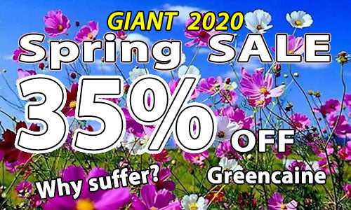 GREENCAINE BLAST numbing cream for tattoos spring sale 2020