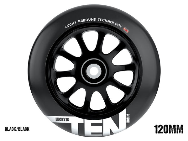 Ten Pro Scooter Wheel 120mm sold as a pair