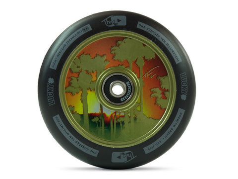 TFOX SIGNATURE SCOOTER WHEEL 110MM (GUAC. GREEN) sold as a PAIR