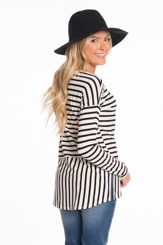 Catrina Striped Top