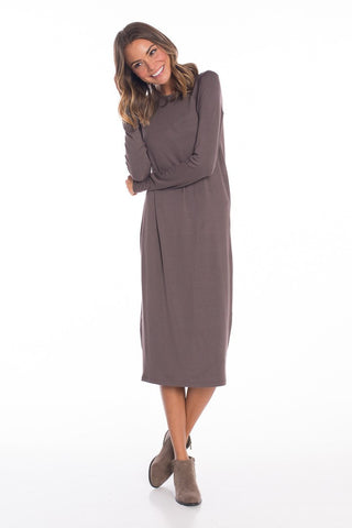 Back to Basics Long Sleeve Dress