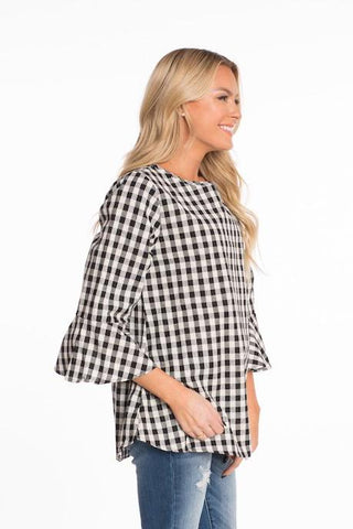 Gigi Gingham Top