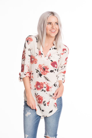 Blossoms Floral Top