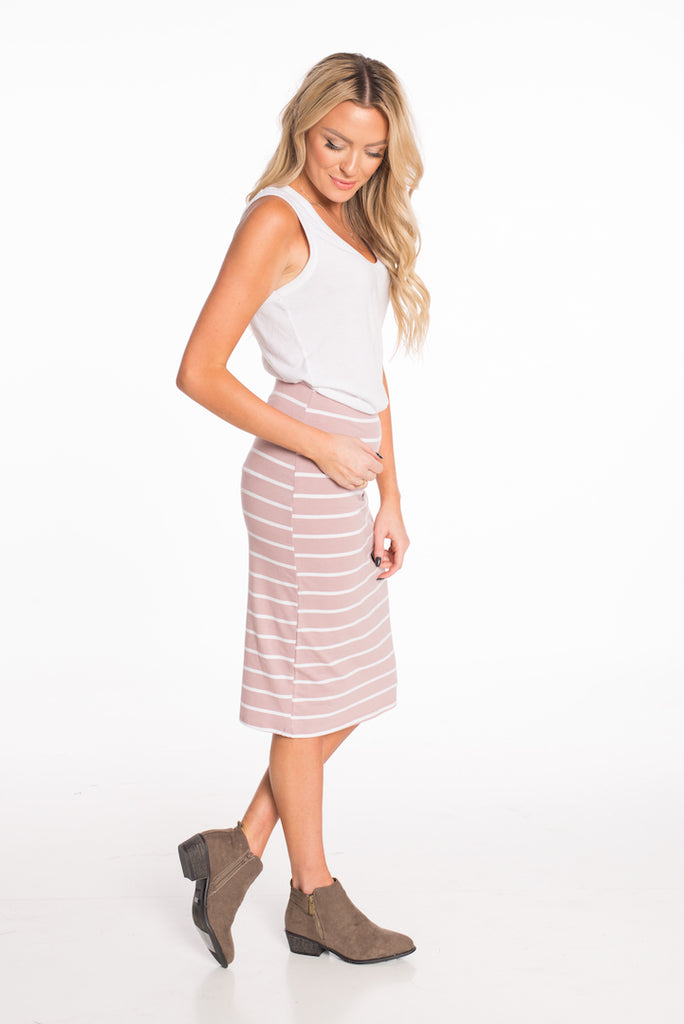 Festival Striped Skirt