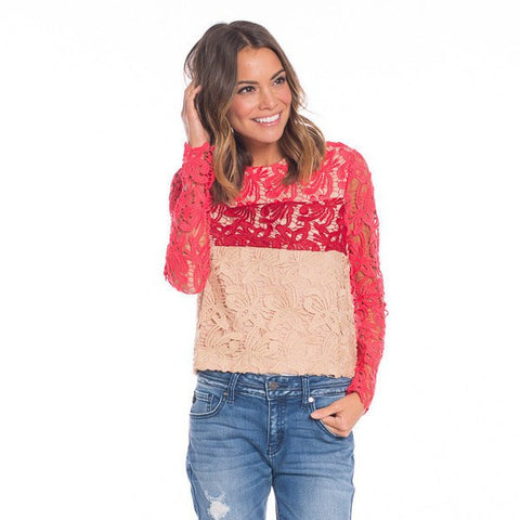 Kerian Lace Top