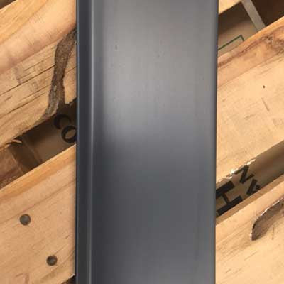 Armstrong Vinyl Wall Base Gun Metal - 4x1/8x48, V4193 Gun Metal, 1800LF available