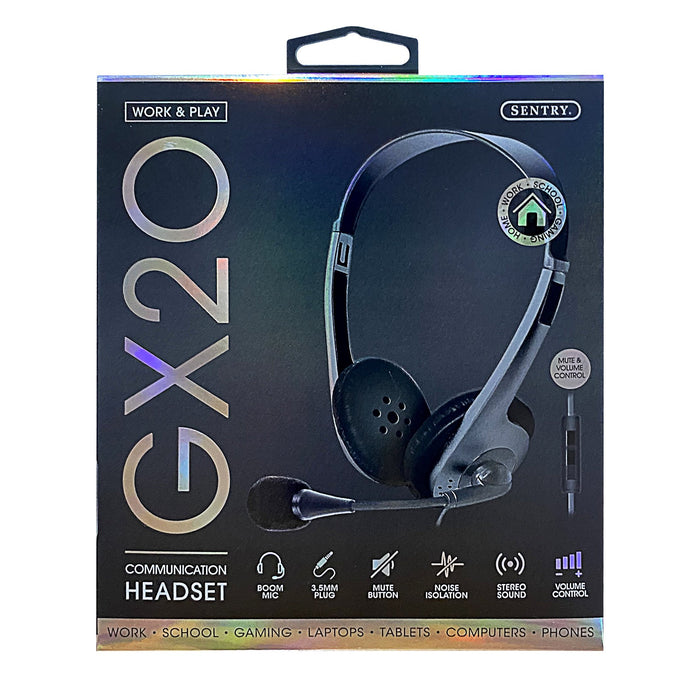 Sentry GX20 Communication Headset with Mic