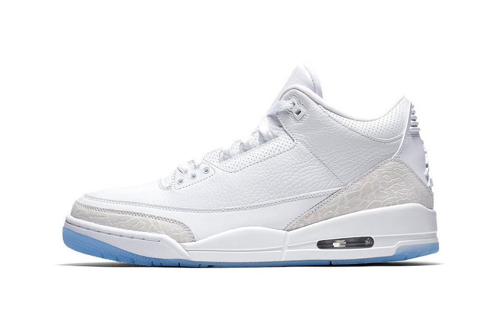 "Air Jordan 3 ""Pure White"" arrives on July 21"