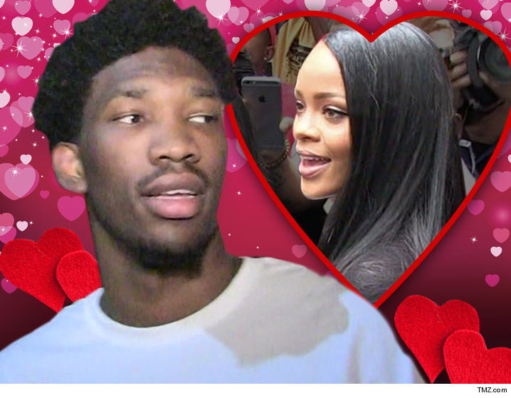 Joel Embiid Tuned Out During Kansas' Loss To Villanova, Asks Rihanna If She's Single Once Again