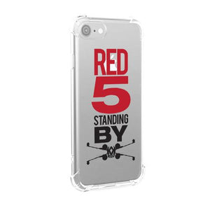 Red 5 Standing By iPhone Case