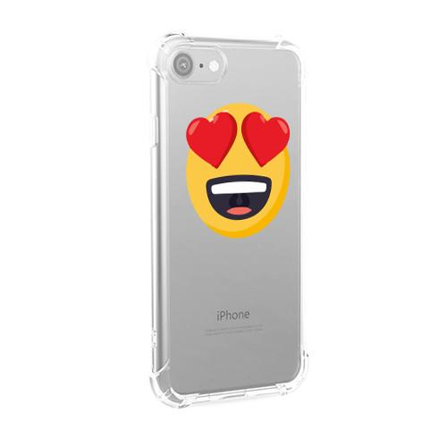 Heart Face iPhone Case