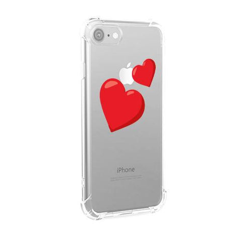 Two Hearts iPhone Case