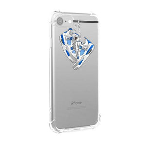 Military Blue 4's iPhone Case
