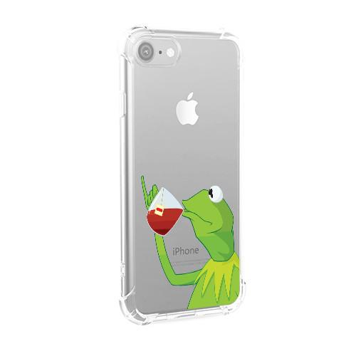 Sipping Tea Frog iPhone Case