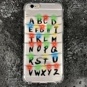 Strange Lights iPhone Case