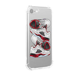 Fire Red 5's iPhone Case