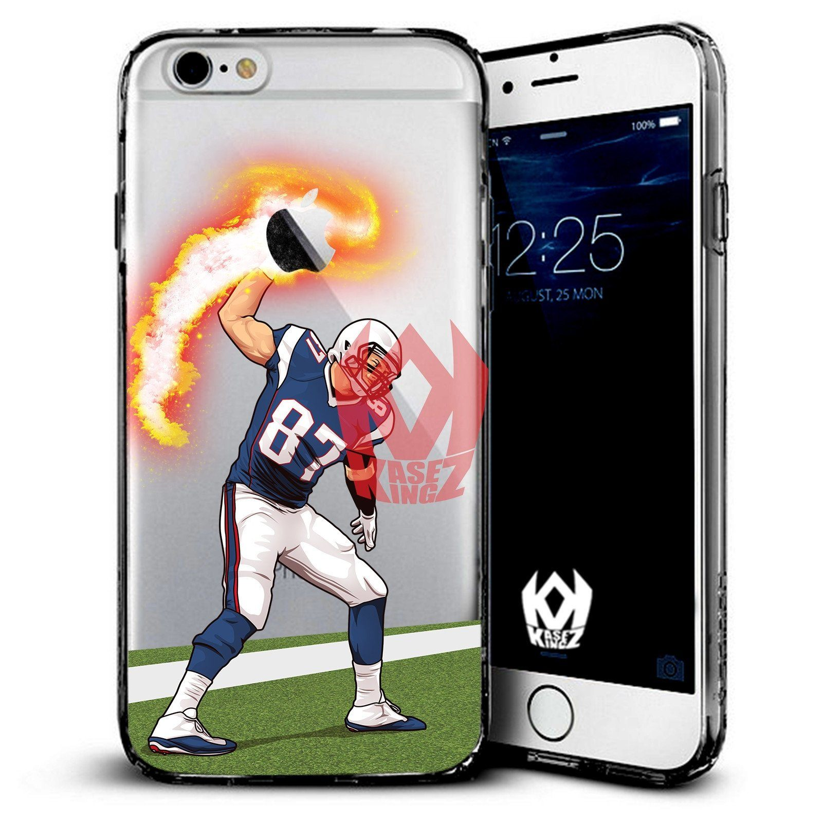 GRONK ON FIRE iPhone Case