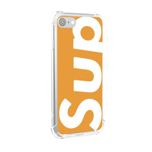 Sup (Orange) iPhone Case