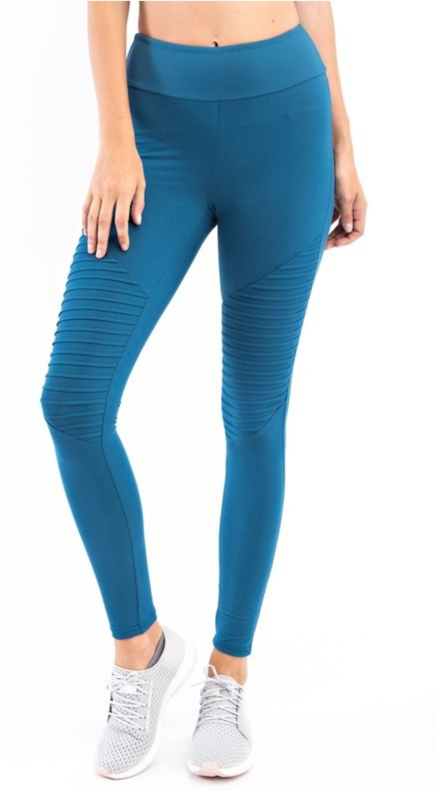 Best selling moto leggings in teal