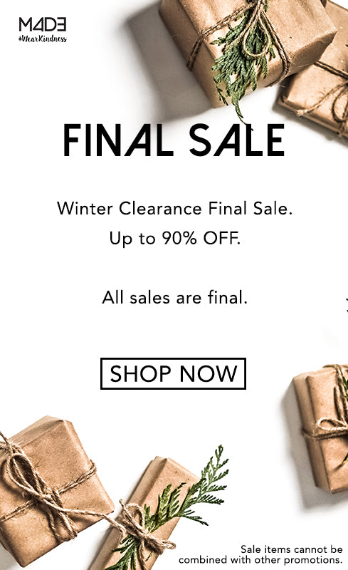 Winter Clearance Sale.