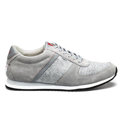 Partnership For A Healthier America Men's Grey Lace Up Sneaker