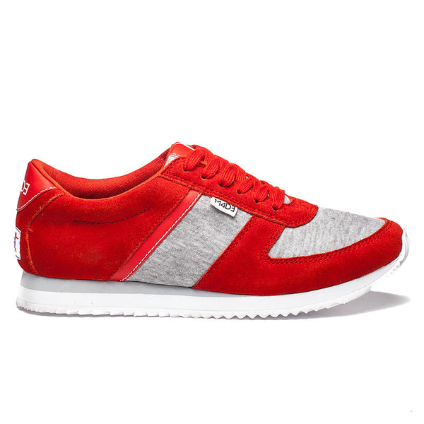 Partnership For A Healthier America Women's Red Lace Up Sneaker