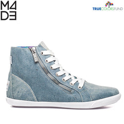 Cyndi True Denim Women's Hi Top