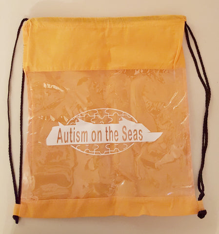 Drawstring Backpack with AotS Logo
