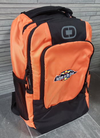Backpack with AotS Logo