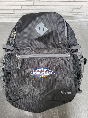 Backpack (Black) with AotS Logo