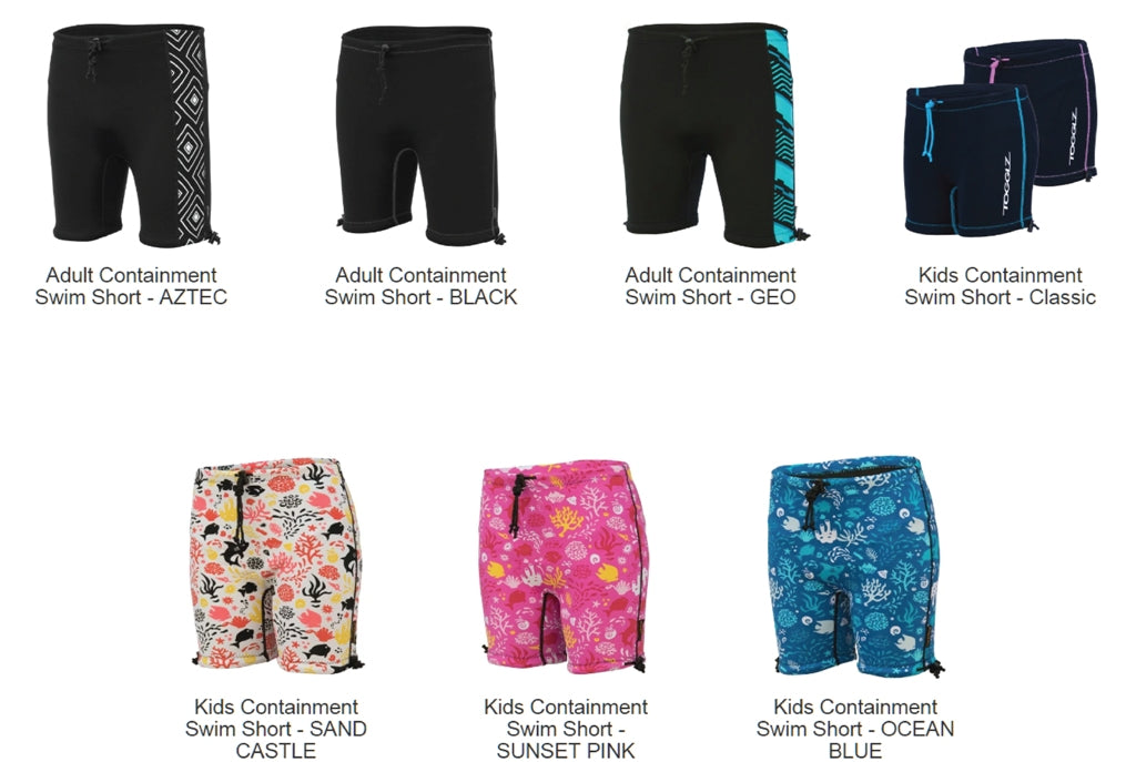 Swim Shorts - Conni Reusable (Special 20% Discount) - See LINK and Discount Code BELOW to PURCHASE