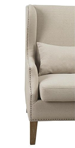 Devon Linen Wing Chair - State.Mint Home & Garden