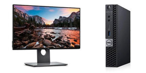 "Dell Optiplex 7070 Micro with 22"" HD Display"