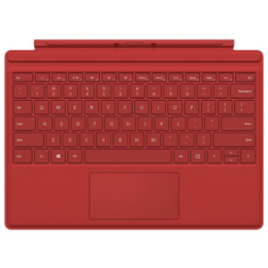 Microsoft Surface Pro 4 Red Keyboard