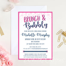 Brunch and Bubbly Bridal Shower Invitation - Deposit