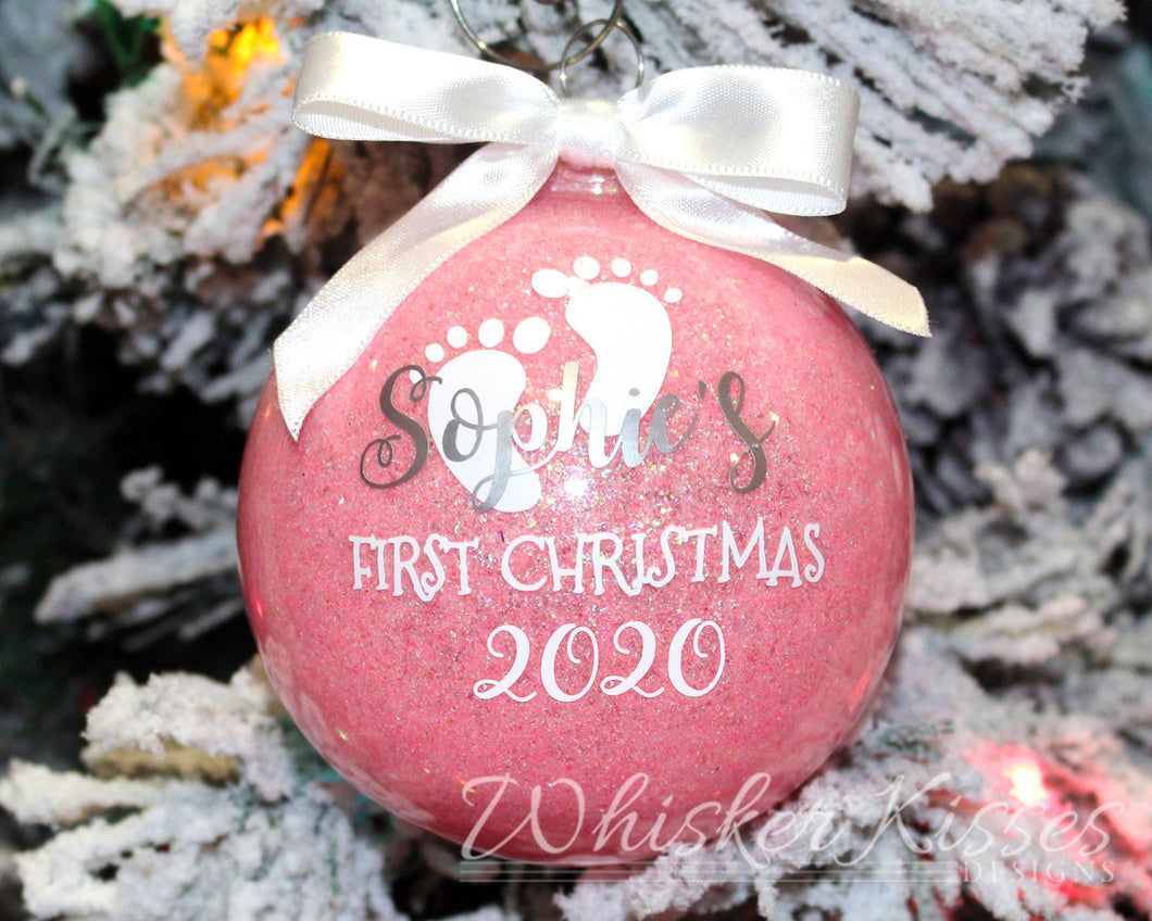 Baby's First Christmas Ornament - Baby Girl