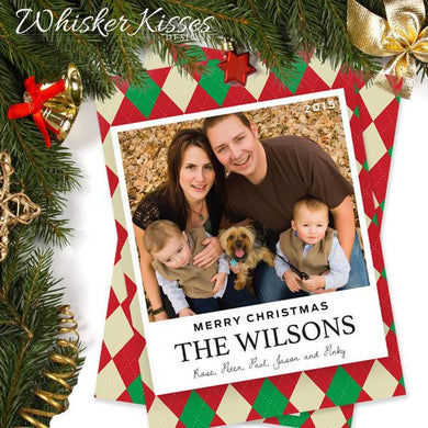 Photo Christmas Cards - Set of 25