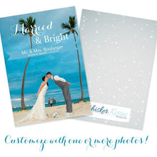 Married Christmas Cards - Set of 10