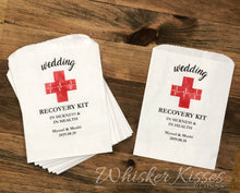 Hangover Recovery Kit Bag - Customizable Wedding Favor Bags - Set of 25