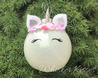 Unicorn Holiday Ornament