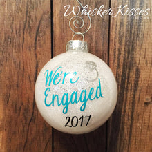Engagement Christmas Ornament