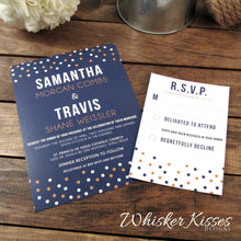 Layered Wedding Invitation and RSVP Suite - Deposit