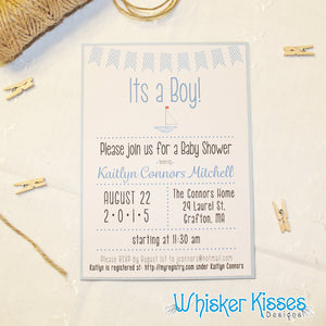 Baby Shower Invitations - Deposit