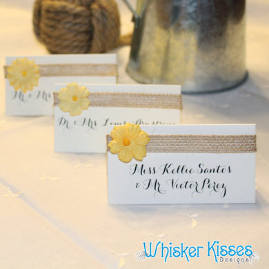 Wedding Place Cards - Deposit