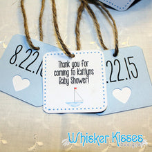 Baby Shower Favor Tags - Set of 12 Tags