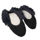 Носки Nors faux fur black/navy